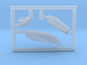 A-4E-144scale-08-ClearFret in Smoothest Fine Detail Plastic