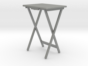 folding table setup in Gray PA12