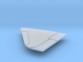 A-4E-144scale-03-LeftWing-SlatsUp in Smooth Fine Detail Plastic