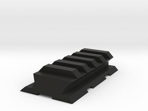 VZ61 Upper Picatinny Rail in Black Premium Versatile Plastic