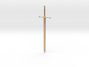 Ice - Ned Stark's Sword -  Game Of Thrones in Natural Bronze