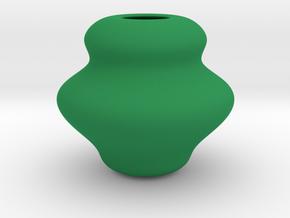 Stationery(pen holder 5) in Green Processed Versatile Plastic