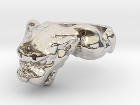 Panther Ring in Platinum: 4 / 46.5