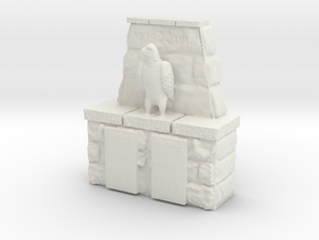 honor memorial (15mm scale) in White Natural Versatile Plastic