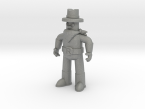 "Ranger Guy 2"" Figurine (Best of All the Guys!) in Gray Professional Plastic"