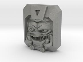 Krang Faceplate (Titan Masters) in Gray PA12