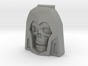 Skeletor Faceplate (Titans Return) in Gray PA12