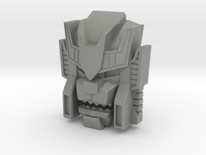 Headmonster Warewolf Face (Titans Return) in Gray PA12