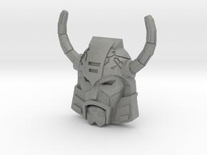 Unicron Face (Titans Return) in Gray PA12