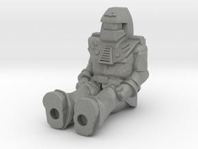 Miles Mayhem, Sitting 35mm Mini in Gray PA12
