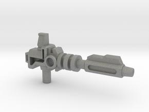 Prime's Laser Gun, 5mm in Gray Professional Plastic: Medium