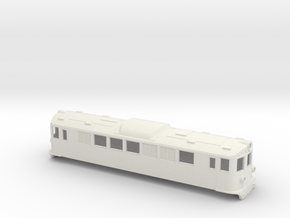 Swedish SJ electric locomotive type F - H0-scale in White Natural Versatile Plastic
