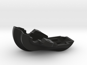 Pont AV Lower part - Front Axle Lower in Black Natural Versatile Plastic