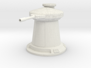 Anti-Personnel Turret 1:48/35mm in White Natural Versatile Plastic