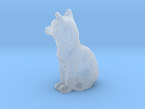 S Scale fox in Smooth Fine Detail Plastic