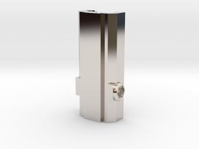 Picatinny/Weaver to Dovetail Converter in Platinum