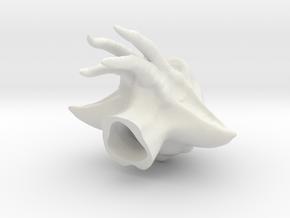 Quarren in 1:6 scale in White Natural Versatile Plastic