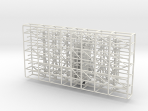 1/35 DKM FuMO 23 Radar Station v2 in White Natural Versatile Plastic