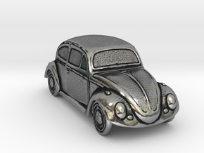 Silver Beetle in Antique Silver