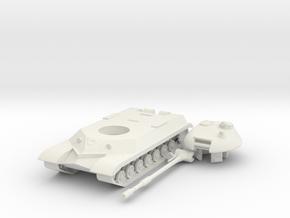 1/100 T-10M Heavy Tank in White Natural Versatile Plastic