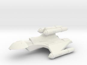 3788 Scale Romulan KillerHawk+ Super-Heavy Cruiser in White Natural Versatile Plastic