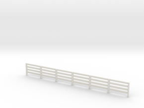 oo gauge fence in White Natural Versatile Plastic