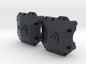 SCX10.2 II AR44 Ballistic Fabrications Diff Cover in Black PA12