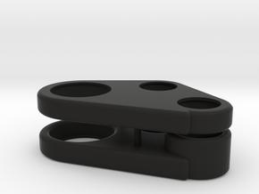 Pont AV Gear case - Front Axle Gear Case in Black Natural Versatile Plastic