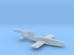 Fieseler V1 Buzz Bomb Ver B 1/87 high detail in Smooth Fine Detail Plastic