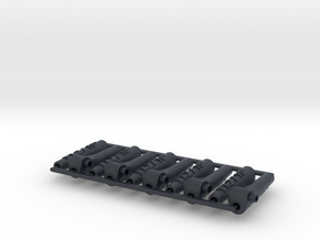 10x Push Rod mounts v.1.2 / 10º in Black Professional Plastic