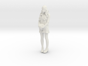 Printle F Haley Bennett - 1/24 - wob in White Natural Versatile Plastic