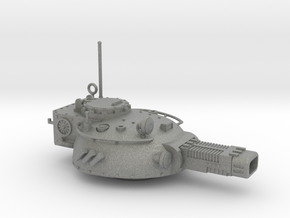 28mm Rauber tank turret - plasmatron cannon in Gray Professional Plastic