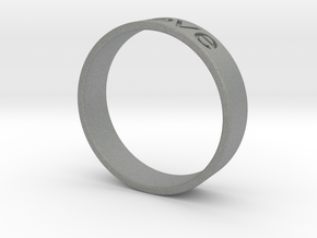 Love ring in Gray PA12
