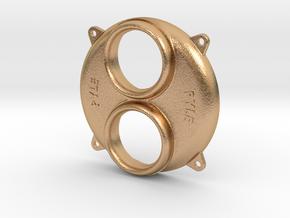 "1.6"" scale SW Pyle Headlight Bezel in Natural Bronze"