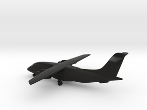 Fairchild Dornier 328JET in Black Natural Versatile Plastic: 6mm