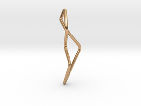 A-LINE Enmotion, Pendant. Pure Chic in Polished Bronze