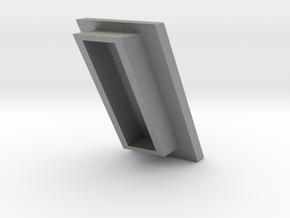 Dark-Saber Blade Plug top in Gray PA12