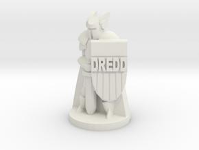 Paladin Dredd in White Natural Versatile Plastic