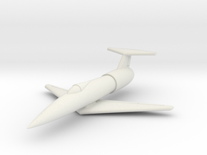 (1:144) Karl Stöckel Fighter Proposal (1953) in White Natural Versatile Plastic