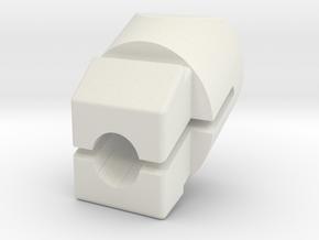 Armrest door nut T3 / T25 / Vanagon in White Natural Versatile Plastic