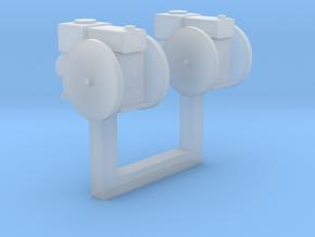 Stationärmotor ohne Transmissionsabtrieb 2erSet TT in Smooth Fine Detail Plastic