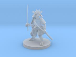 Dwarf Samurai in Smooth Fine Detail Plastic