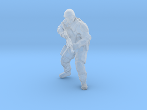 Swat-team - RIFLE shooter A  in Smooth Fine Detail Plastic