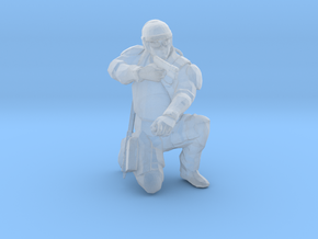 Swat-team - pointman in Smooth Fine Detail Plastic