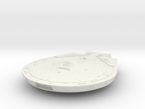 Constellation hull 1/1000 scale in White Natural Versatile Plastic