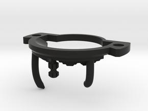 GCM124-CC-01-3 - Crystal Chamber Part3 - Brass2 in Black Premium Versatile Plastic