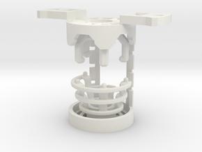 GCM124-CC-01-4 - Crystal Chamber Part4 - Bronze in White Premium Versatile Plastic