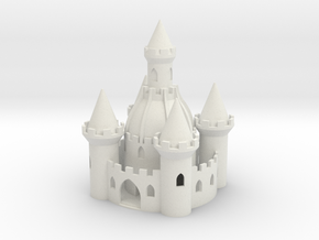 Chateau in White Natural Versatile Plastic