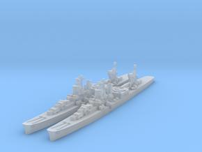 Agano cruiser x2 (Axis & Allies) in Smooth Fine Detail Plastic