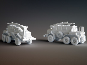 Buffalo Mine Protected Vehicle Scale: 1:144 in Smooth Fine Detail Plastic
